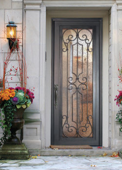 Forged Iron Front Doors