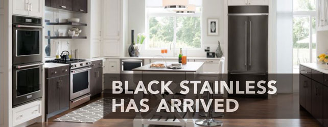 Introducing KitchenAid Black Stainless