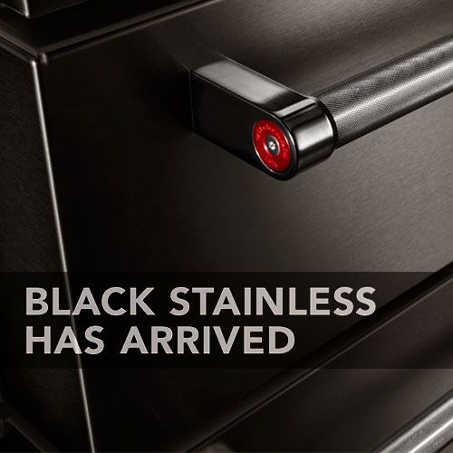 Kitchenaid Black Stainless Steel Complete Kitchen Package: Expansive Appliance Showrooms