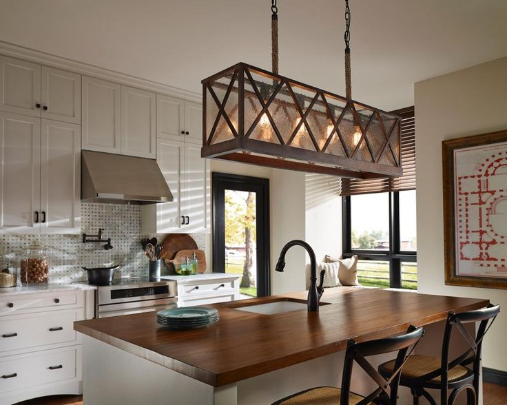 4 light Island fixture bronze & Lighting Gallery azcodes.com