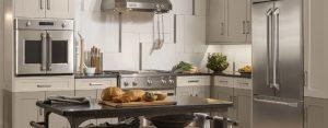 GE Monogram Stainless Steel Appliances