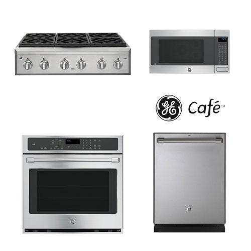 GE Cafe Rangetop Package